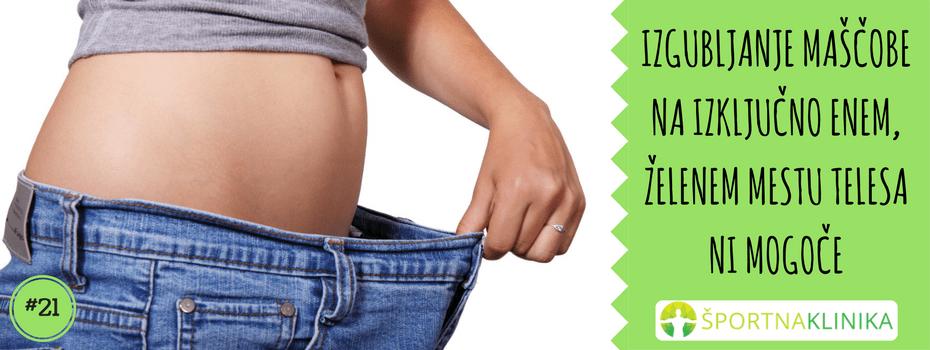 Izgubljanje maščobe