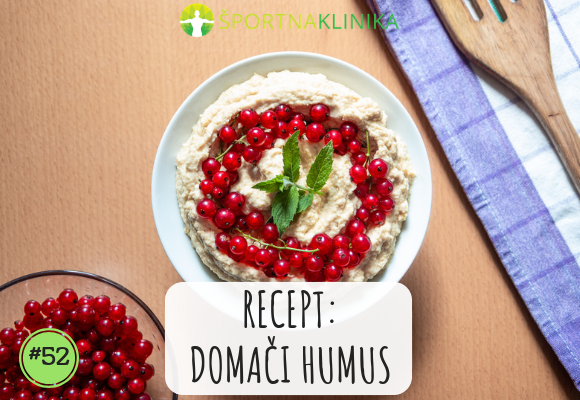 Recept: Domači humus [VIDEO]